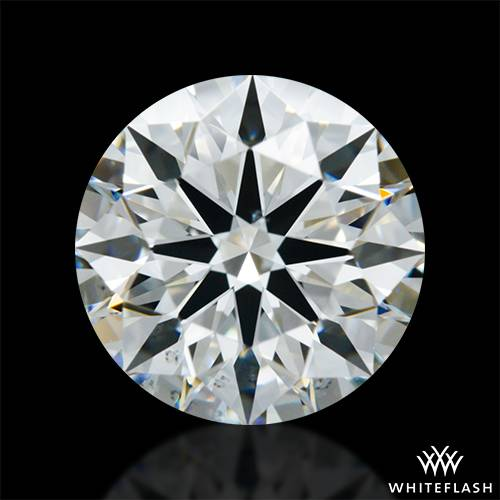 1.513 ct G VS2 A CUT ABOVE® Hearts and Arrows Super Ideal Round Cut Loose Diamond