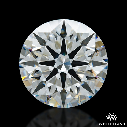 2.417 ct G VS2 A CUT ABOVE® Hearts and Arrows Super Ideal Round Cut Loose Diamond