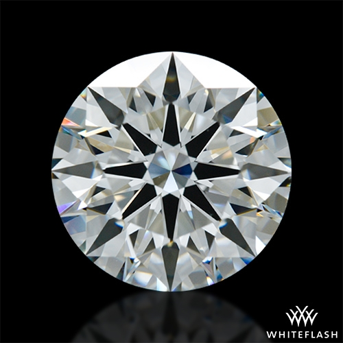 2.501 ct H VS2 A CUT ABOVE® Hearts and Arrows Super Ideal Round Cut Loose Diamond