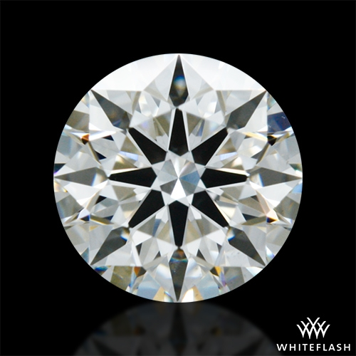 0.862 ct G VS2 A CUT ABOVE® Hearts and Arrows Super Ideal Round Cut Loose Diamond