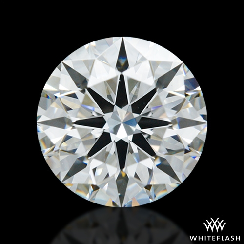 1.208 ct F VVS2 A CUT ABOVE® Hearts and Arrows Super Ideal Round Cut Loose Diamond