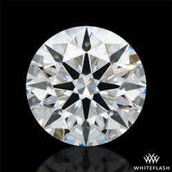 0.413 ct F VVS2 A CUT ABOVE® Hearts and Arrows Super Ideal Round Cut Loose Diamond