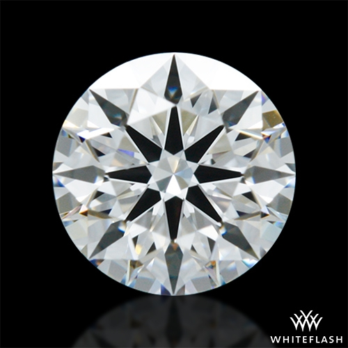 0.532 ct E VVS2 A CUT ABOVE® Hearts and Arrows Super Ideal Round Cut Loose Diamond