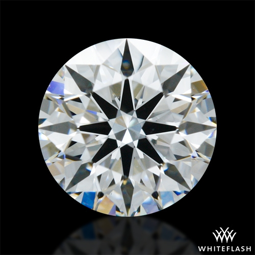 0.61 ct F VVS2 A CUT ABOVE® Hearts and Arrows Super Ideal Round Cut Loose Diamond