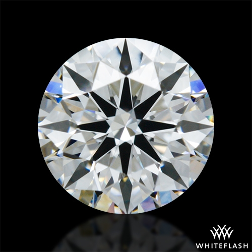 0.752 ct E VVS1 A CUT ABOVE® Hearts and Arrows Super Ideal Round Cut Loose Diamond