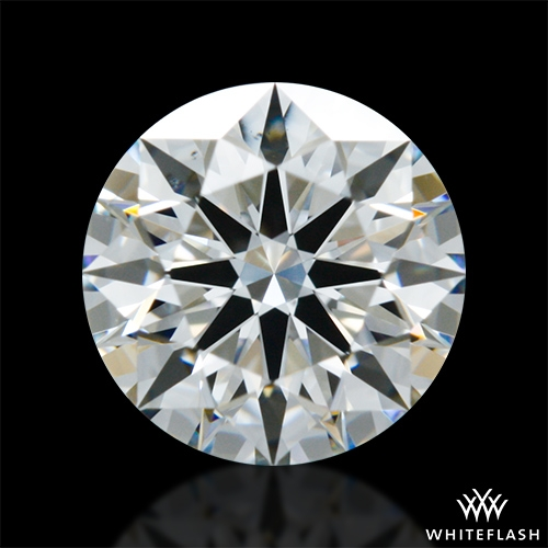 0.815 ct F VS2 A CUT ABOVE® Hearts and Arrows Super Ideal Round Cut Loose Diamond