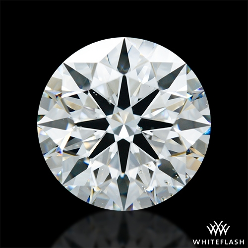 3.525 ct I SI1 A CUT ABOVE® Hearts and Arrows Super Ideal Round Cut Loose Diamond