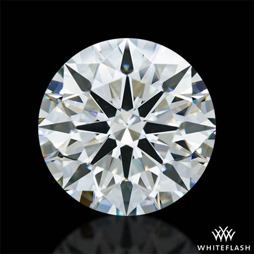 3.09 ct J VS2 A CUT ABOVE® Hearts and Arrows Super Ideal Round Cut Loose Diamond