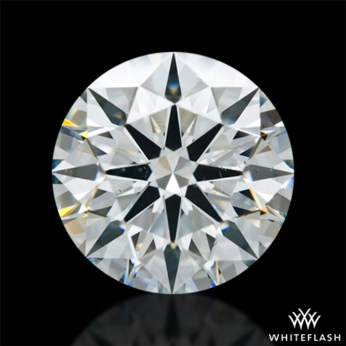 3.321 ct I VS2 A CUT ABOVE® Hearts and Arrows Super Ideal Round Cut Loose Diamond