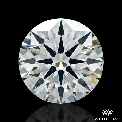 2.866 ct H SI1 A CUT ABOVE® Hearts and Arrows Super Ideal Round Cut Loose Diamond