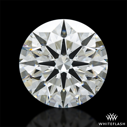 3.03 ct I SI1 A CUT ABOVE® Hearts and Arrows Super Ideal Round Cut Loose Diamond