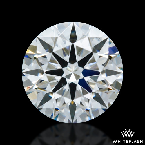 0.601 ct F VS2 A CUT ABOVE® Hearts and Arrows Super Ideal Round Cut Loose Diamond