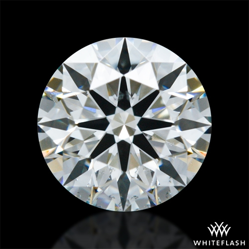 0.627 ct I SI1 A CUT ABOVE® Hearts and Arrows Super Ideal Round Cut Loose Diamond