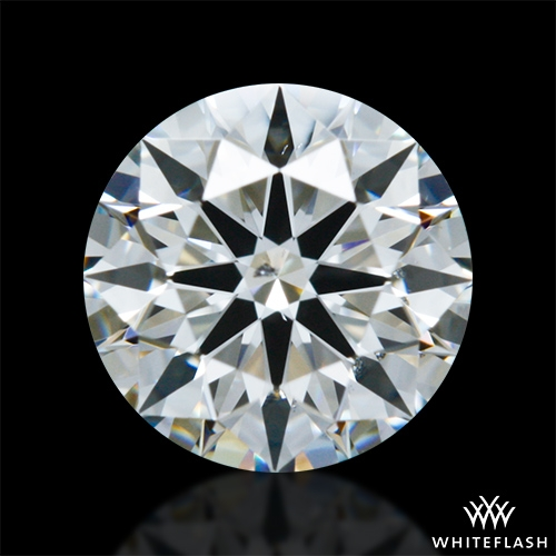 0.634 ct H SI1 A CUT ABOVE® Hearts and Arrows Super Ideal Round Cut Loose Diamond