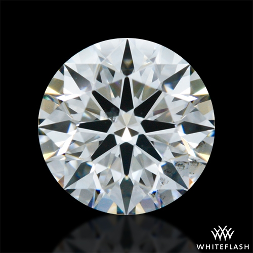 0.622 ct G SI1 A CUT ABOVE® Hearts and Arrows Super Ideal Round Cut Loose Diamond
