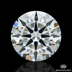 0.605 ct J VS1 A CUT ABOVE® Hearts and Arrows Super Ideal Round Cut Loose Diamond