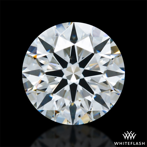 0.713 ct E VS2 A CUT ABOVE® Hearts and Arrows Super Ideal Round Cut Loose Diamond