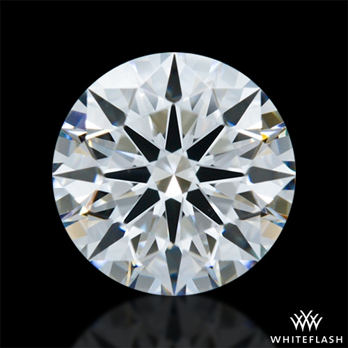 0.82 ct E VS2 A CUT ABOVE® Hearts and Arrows Super Ideal Round Cut Loose Diamond