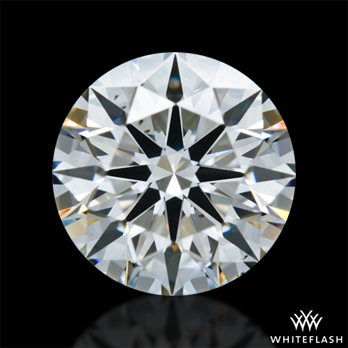 0.946 ct I VS2 A CUT ABOVE® Hearts and Arrows Super Ideal Round Cut Loose Diamond