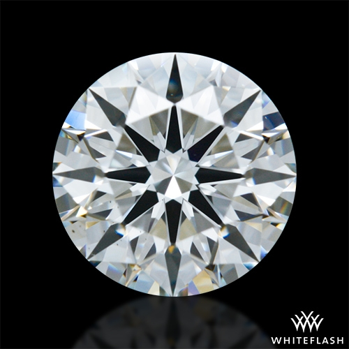 0.958 ct H VS2 A CUT ABOVE® Hearts and Arrows Super Ideal Round Cut Loose Diamond
