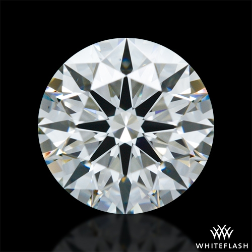 0.931 ct I VS1 A CUT ABOVE® Hearts and Arrows Super Ideal Round Cut Loose Diamond