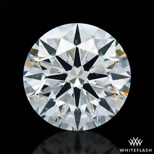 0.947 ct H VS1 A CUT ABOVE® Hearts and Arrows Super Ideal Round Cut Loose Diamond