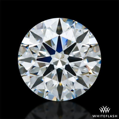 0.903 ct G VS2 A CUT ABOVE® Hearts and Arrows Super Ideal Round Cut Loose Diamond