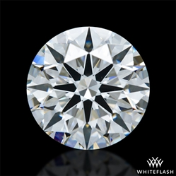 1.041 ct G VS2 A CUT ABOVE® Hearts and Arrows Super Ideal Round Cut Loose Diamond