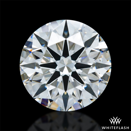 1.037 ct F VS2 A CUT ABOVE® Hearts and Arrows Super Ideal Round Cut Loose Diamond
