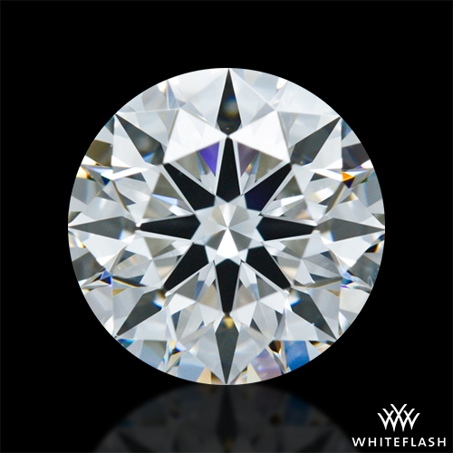 1.248 ct G VS2 A CUT ABOVE® Hearts and Arrows Super Ideal Round Cut Loose Diamond