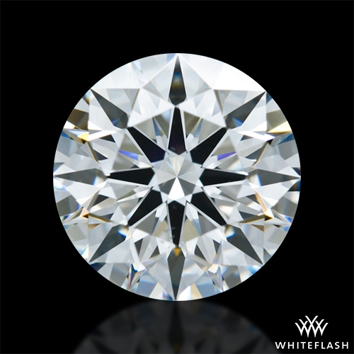 1.362 ct F VS2 A CUT ABOVE® Hearts and Arrows Super Ideal Round Cut Loose Diamond