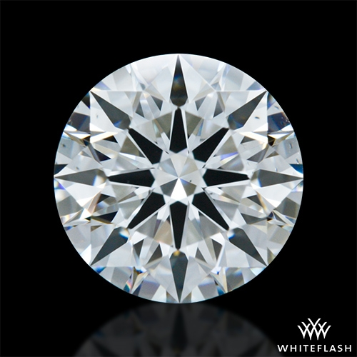 1.317 ct G VS2 A CUT ABOVE® Hearts and Arrows Super Ideal Round Cut Loose Diamond