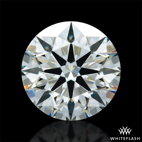 0.817 ct I VVS2 A CUT ABOVE® Hearts and Arrows Super Ideal Round Cut Loose Diamond