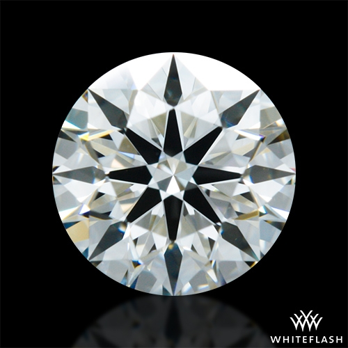 0.807 ct I VS1 A CUT ABOVE® Hearts and Arrows Super Ideal Round Cut Loose Diamond