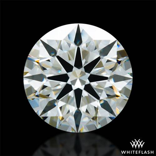 0.808 ct J VS2 A CUT ABOVE® Hearts and Arrows Super Ideal Round Cut Loose Diamond
