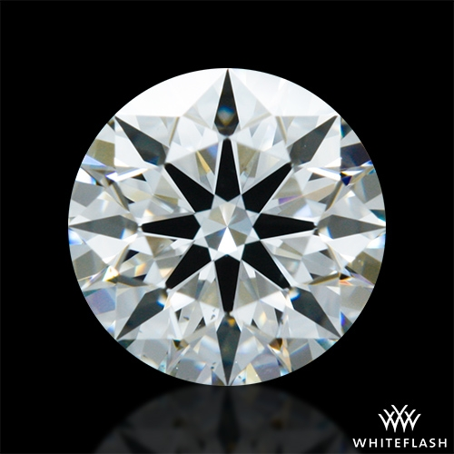 0.716 ct I VS2 A CUT ABOVE® Hearts and Arrows Super Ideal Round Cut Loose Diamond