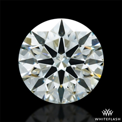 0.772 ct J VS2 A CUT ABOVE® Hearts and Arrows Super Ideal Round Cut Loose Diamond