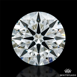 0.526 ct I VS2 A CUT ABOVE® Hearts and Arrows Super Ideal Round Cut Loose Diamond