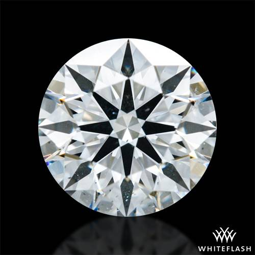 0.417 ct H SI1 A CUT ABOVE® Hearts and Arrows Super Ideal Round Cut Loose Diamond