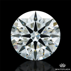 0.706 ct H VS1 A CUT ABOVE® Hearts and Arrows Super Ideal Round Cut Loose Diamond