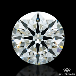 0.698 ct I VS1 A CUT ABOVE® Hearts and Arrows Super Ideal Round Cut Loose Diamond