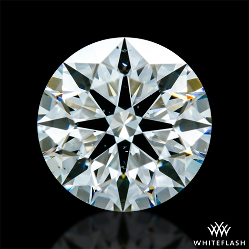 0.521 ct H VS2 A CUT ABOVE® Hearts and Arrows Super Ideal Round Cut Loose Diamond