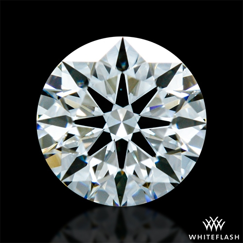 0.504 ct H VS2 A CUT ABOVE® Hearts and Arrows Super Ideal Round Cut Loose Diamond