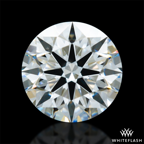 0.505 ct H SI1 A CUT ABOVE® Hearts and Arrows Super Ideal Round Cut Loose Diamond
