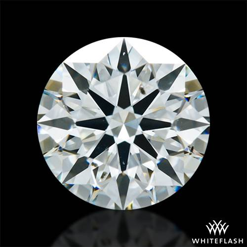 1.108 ct I SI1 A CUT ABOVE® Hearts and Arrows Super Ideal Round Cut Loose Diamond