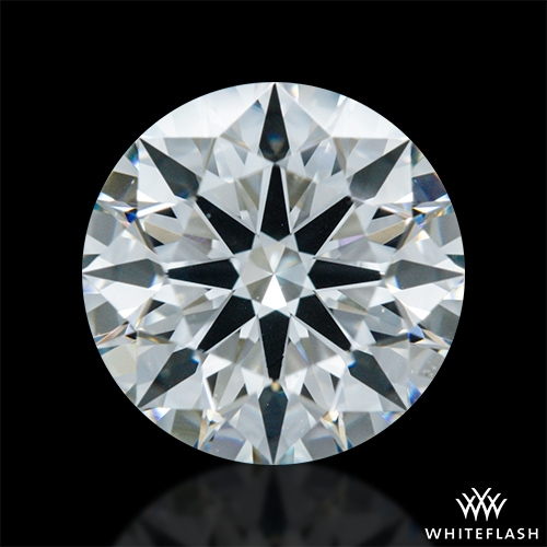 1.102 ct G VS2 A CUT ABOVE® Hearts and Arrows Super Ideal Round Cut Loose Diamond