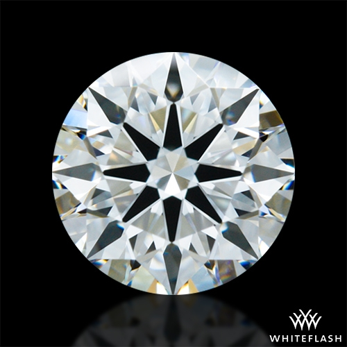 1.011 ct F VVS2 A CUT ABOVE® Hearts and Arrows Super Ideal Round Cut Loose Diamond