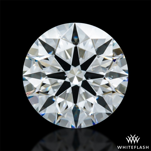 0.348 ct G VS2 A CUT ABOVE® Hearts and Arrows Super Ideal Round Cut Loose Diamond