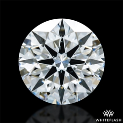 0.33 ct F SI1 A CUT ABOVE® Hearts and Arrows Super Ideal Round Cut Loose Diamond