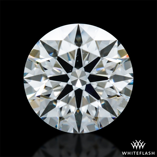 0.331 ct H VS2 A CUT ABOVE® Hearts and Arrows Super Ideal Round Cut Loose Diamond